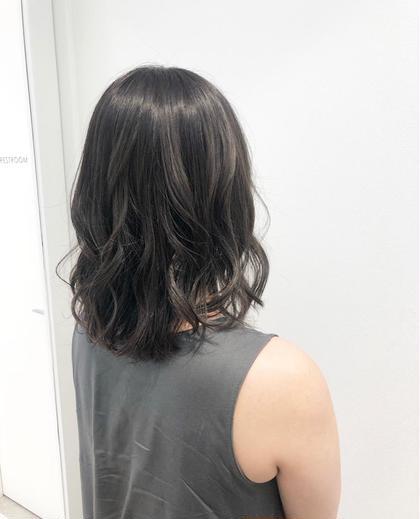 🌟前髪カット+コテ巻き🌟