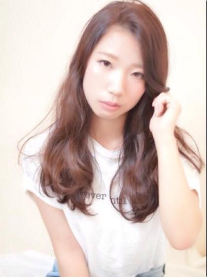 ゆるゆるセミロング♡ NYNY/mothers所属・岸川恭子のスタイル