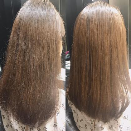 ❣️髪質改善❣️【ダメージレス】酸性ストレート+パーソナルトリートメント