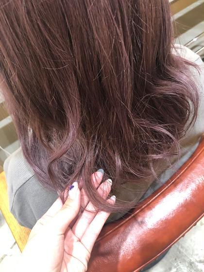 lavender pink❤︎ ダブルカラーもご相談ください! Faretsurumi所属・タカハシアヤのスタイル