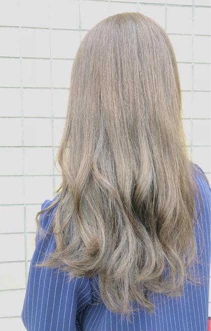 外国人風ダブルカラー【低ダメージケアブリーチ使用】➕髪質改善トリートメント