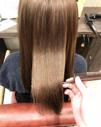 髪質改善トリートメント🍇ブローだけでサラツヤに💫