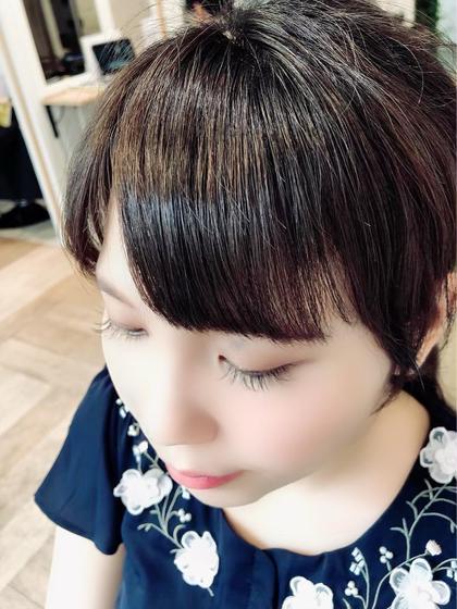 💄 前髪カット+前髪縮毛矯正 💄