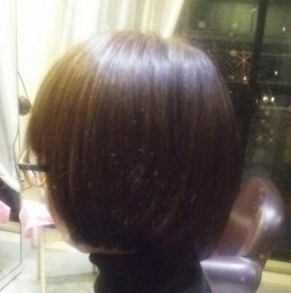 のばしかけショートボブ A'J hair所属・長岡未希のスタイル