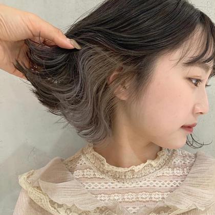 💎個性派、韓国風、ダブルカラー💎 インナーカラーor裾カラー +Re色持ちトリートメント