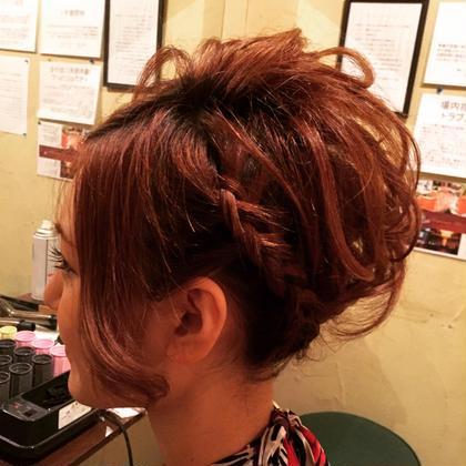 編み込み hair cou cou所属・のっち(あやの)のスタイル