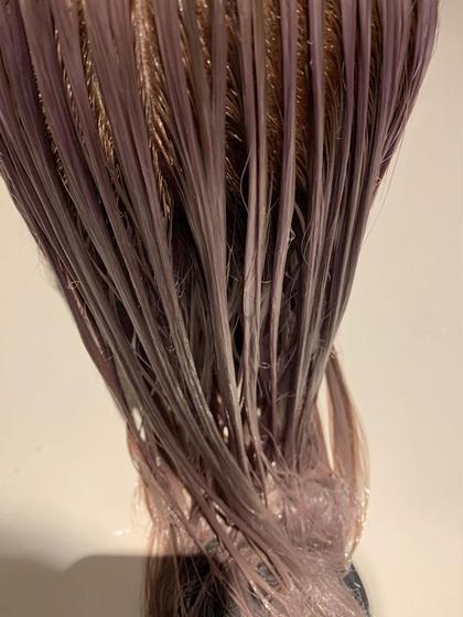 超音波×TOKIOトリートメント ケアプロ使用🐇❤︎しっかりと髪の内部から補修 カラーの予約と同時に可能です!!