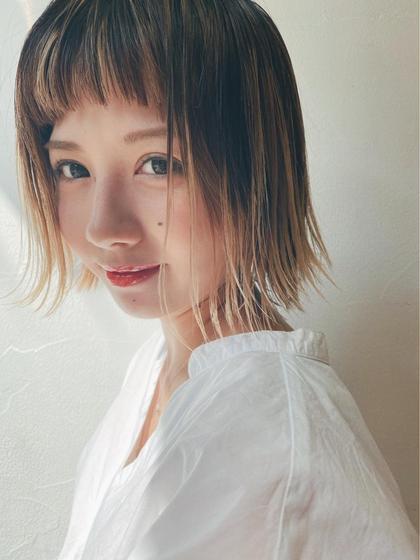 ☘️【学生限定、U24】カット+外国人風ハイライト