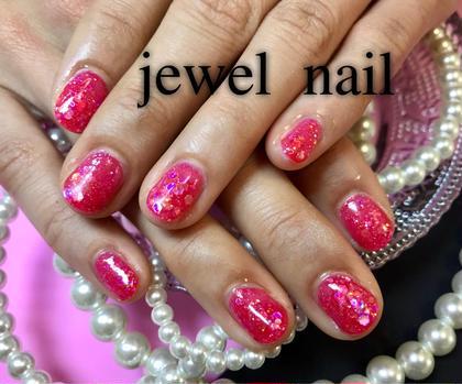 キラキラグリッターネイル♡ pink sugar nail前橋(旧jewel nail)所属・pink sugarnailのフォト