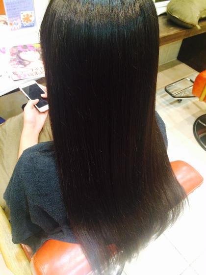 縮毛矯正+トリートメント☺︎︎ Hair resort  Ai所属・鈴木詩織のスタイル