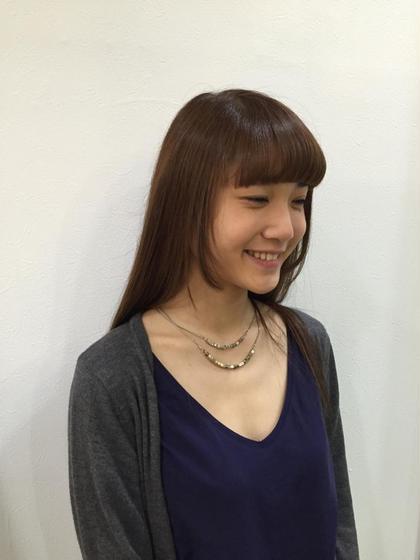 キラ水でサラツヤヘアー✴︎天使の輪っかが出来ます!!! HAIR&MAKE   POSH所属・湯山詩織のスタイル