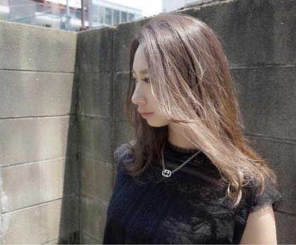 前髪カット+アディクシーカラー+tokioトリートメント
