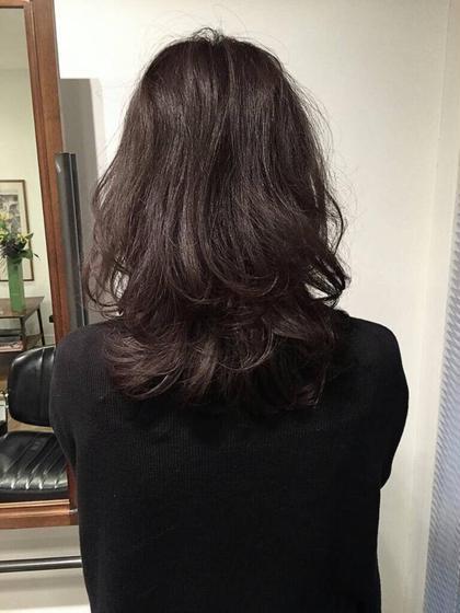 ミディアム レイヤー  Hair Salon Ten motoazabu所属・松尾昭秀のスタイル
