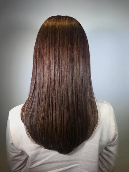 【ご新規様限定クーポン】髪質改善トリートメント、シャンプー、ブロー込み