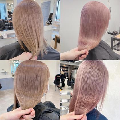 【最高級髪質改善】カット+Wカラー+TOKIOトリートメント