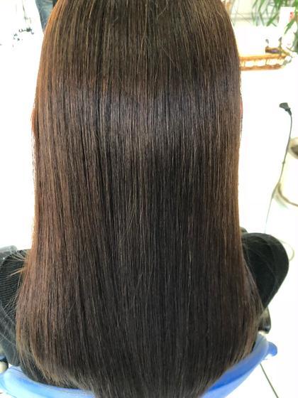 髪質改善カラーエステでサラサラ感が一か月以上続くトリートメント。 プラウド所属・坂野健二のスタイル