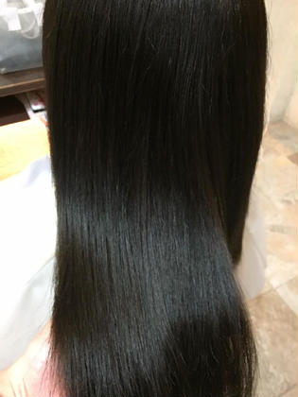 💜カット+髪質改善トリートメント(ホームケア付)+プチスパ