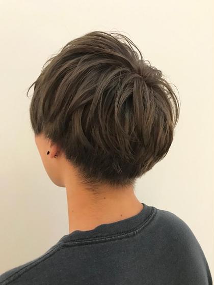 ブリーチ毛からのonカラー◎ ラベンダー系を入れてあげることによって、色落ち後の黄ばみを抑えてくれます◎ hairmakeO/s所属・佐藤魁人のスタイル