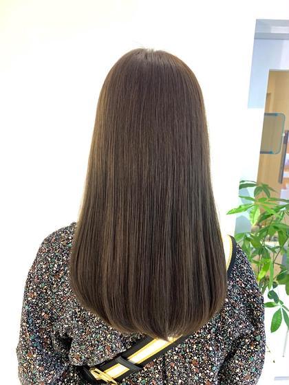 御新規様限定🍀髪のケアもしたい方へ🍀アディクシーカラー+MILBON最高級1STEPトリートメント