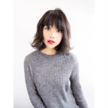 暗髪でもイルミナカラーで透明感がでますよ☺️✨ 平本亜利沙のスタイル