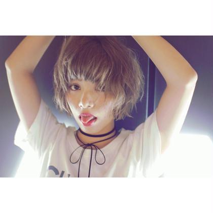 ⭐︎小顔カット➕外国人風カラー⭐︎