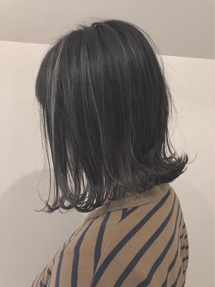 🦋人気No. 1🦋カット+透明感フルカラー+2Stepトリートメント ※ロング料金なし(3回利用可)