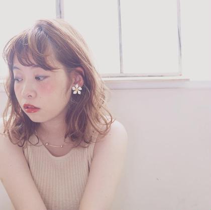 ゆるふわシフォンBOB❤︎ neolive  sango所属・細井李奈のスタイル