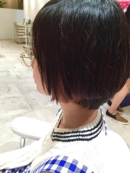 ワンポイントカラー Opus hair  salon所属・二ノ宮陵寛のスタイル