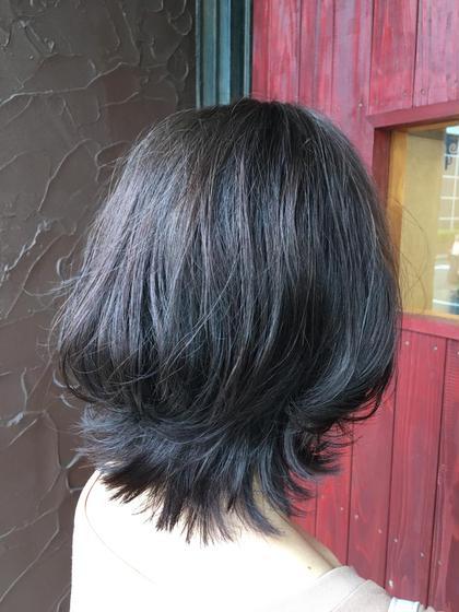 【2回目まで使えます】艶髪になります✨白髪染め+カット+炭酸泉+潤いトリートメント ※育てるハイライトお試しできます※