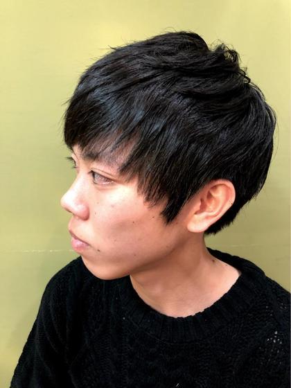 新規【人気メンズコース】メンズカット+眉カット