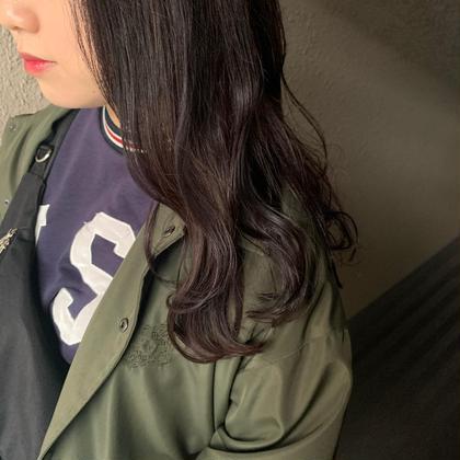 ほんのり紫カラー