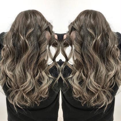 思わず振り向く外国人風イルミナグラデーションカラー HairmakeVERDA所属・富永憲一郎のスタイル