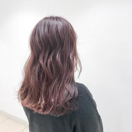 ピンク系カラー(うる艶トリートメント込み⭐︎)