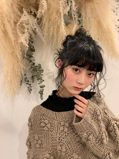 ♡ 前髪パーマ ♡