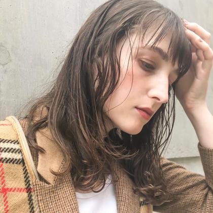 ♡  オシャレcolor ➕キューティクル補修トリートメント  ♡