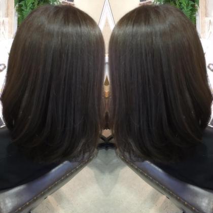 トーンダウン✄暗めのグレージュカラー hair styling room butter所属・渋田幸恵のスタイル