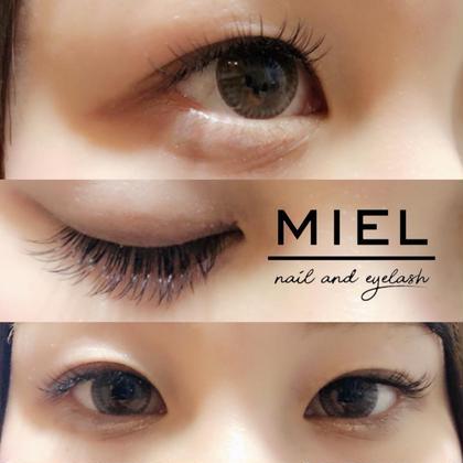 シングルエクステ100本コース MIEL nail&eyelash所属・.MAIのフォト