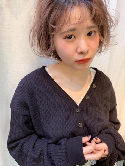 ⭐️色落ちまでかわいいピンクグレージュ🎀(2回目以降¥11000)