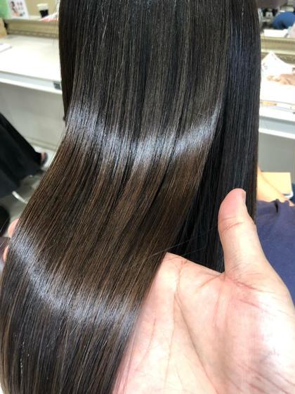 🤦🏻♀️膨らむ髪の毛を落ち着かせたい🥺✨髪質も改善します✨カットは無しのメニューになります💎