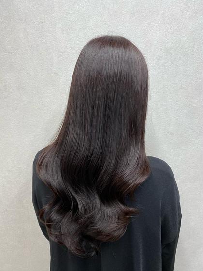 艶髪に変身🙋♀️✨カット+フルカラー+TOKIOトリートメント