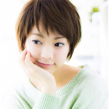 シースルーバンクが可愛い! Tokyo hair salon  Dio所属・加藤瑛のスタイル