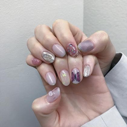 ネイル マツエク・マツパ 土日空きあり🌷 instagram<<chipieee_nail_saya>>