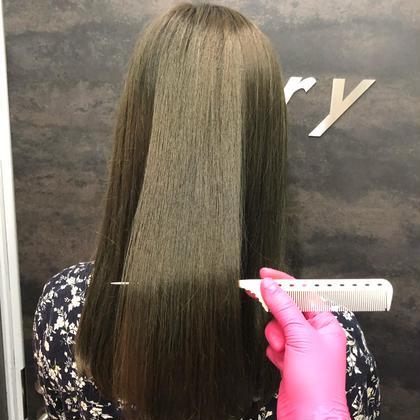 ワンカラー&プレミアム髪質改善💜➕炭酸スパ➕シャンプーブロー込✨✨
