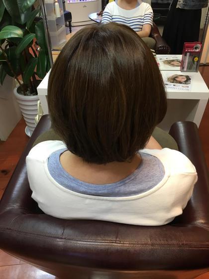 新色カラー!イルミナカラー! ヌード hair  & spa an contour所属・足立依世のスタイル