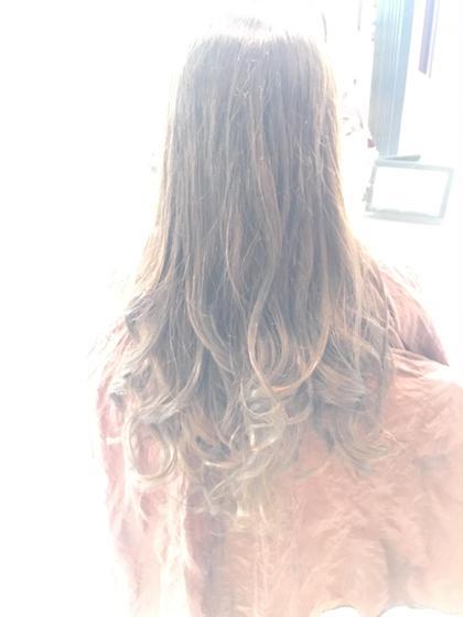 透明感グレージュ☆  今時なオシャレグレージュ! 若い女性に大人気です(*^^*) hair&make earth   大船店所属・大澤優樹のスタイル