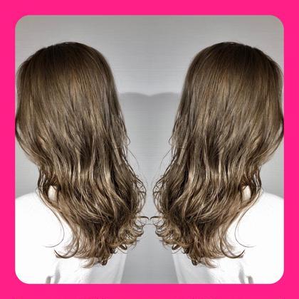 ⭐️5番人気⭐️ 💕初回2回目限定💕💙ブリーチ込みW(ダブル)カラー&髪質改善4stepトリートメント💙