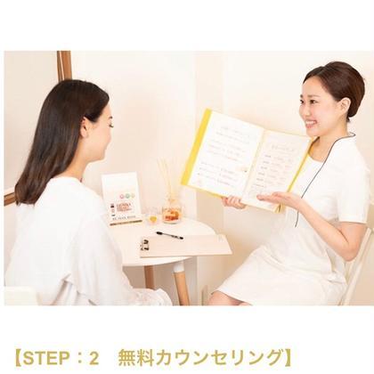 【脱毛カウンセリング&パッチテスト】