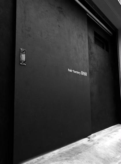 黒い扉が目印です! litil リティル所属・金谷健太のスタイル