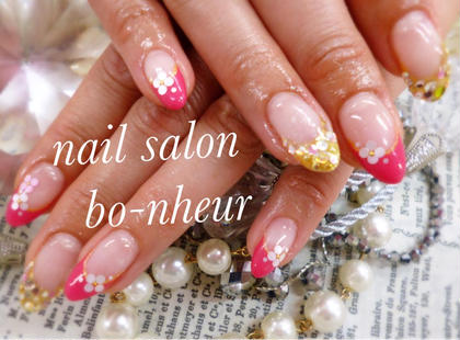 シンプルコース✨無料オプション3つ付き✨ nail salon  bo-nheur(ボ・ヌール)所属・瀬戸望見のフォト
