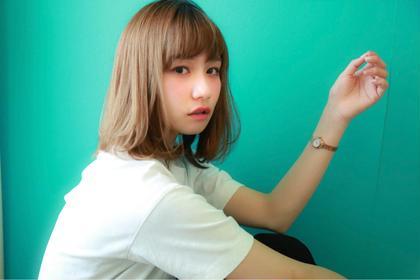 ワンカールセミディ☆  ゆるく動く髪が可愛いスタイル☆ Ripple所属・赤木健一のスタイル